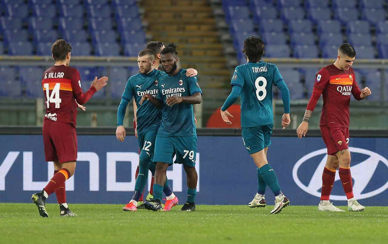 Highlights Roma-Milan, il video