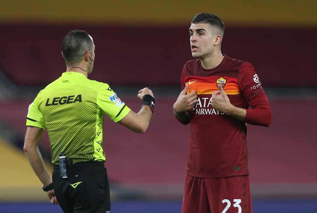 Moviola Roma-Milan, tre gol annullati in mezz'ora: l'analisi degli episodi