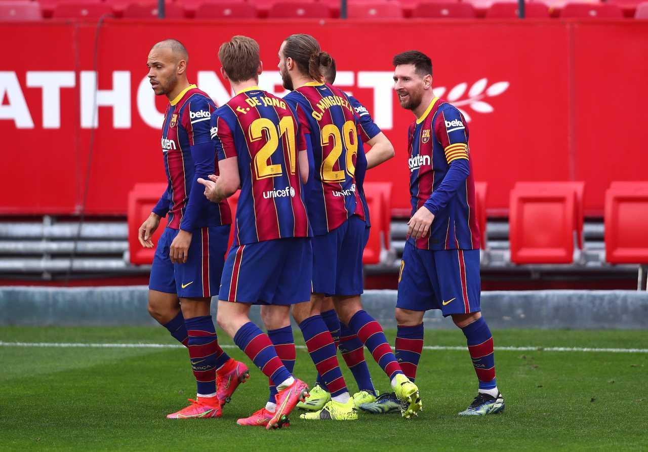Siviglia-Barcellona, Messi oscura Papu Gomez: lo show della Pulga (foto Getty)