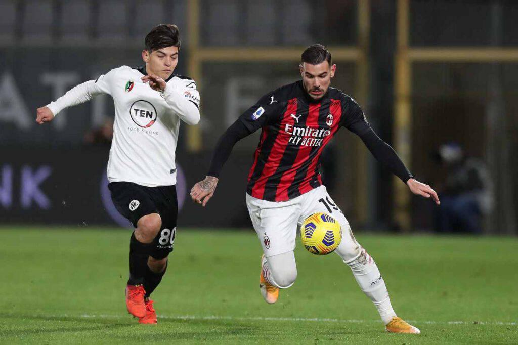Spezia-Milan, Pioli incassa una brutta sconfitta (Getty Images)