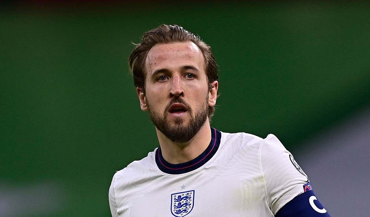Albania Inghilterra Kane