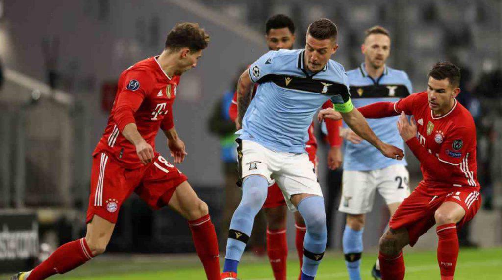 Bayern Monaco-Lazio, biancocelesti fuori dalla Champions (Getty Images)