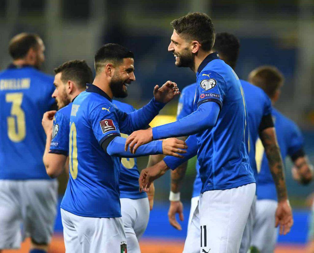 Berardi a segno con l'Italia al Tardini (Getty Images)