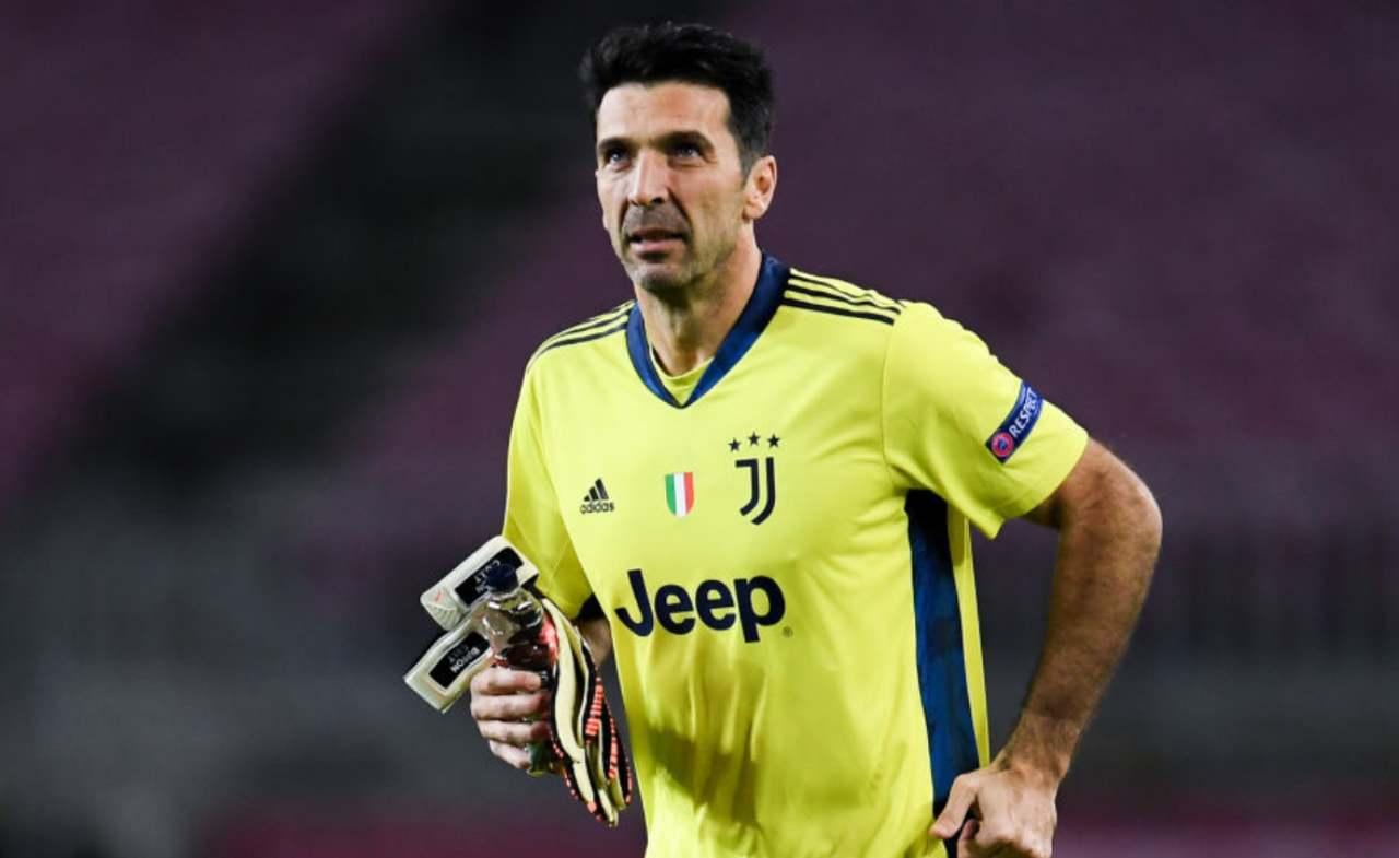 Juventus Buffon addio ritiro