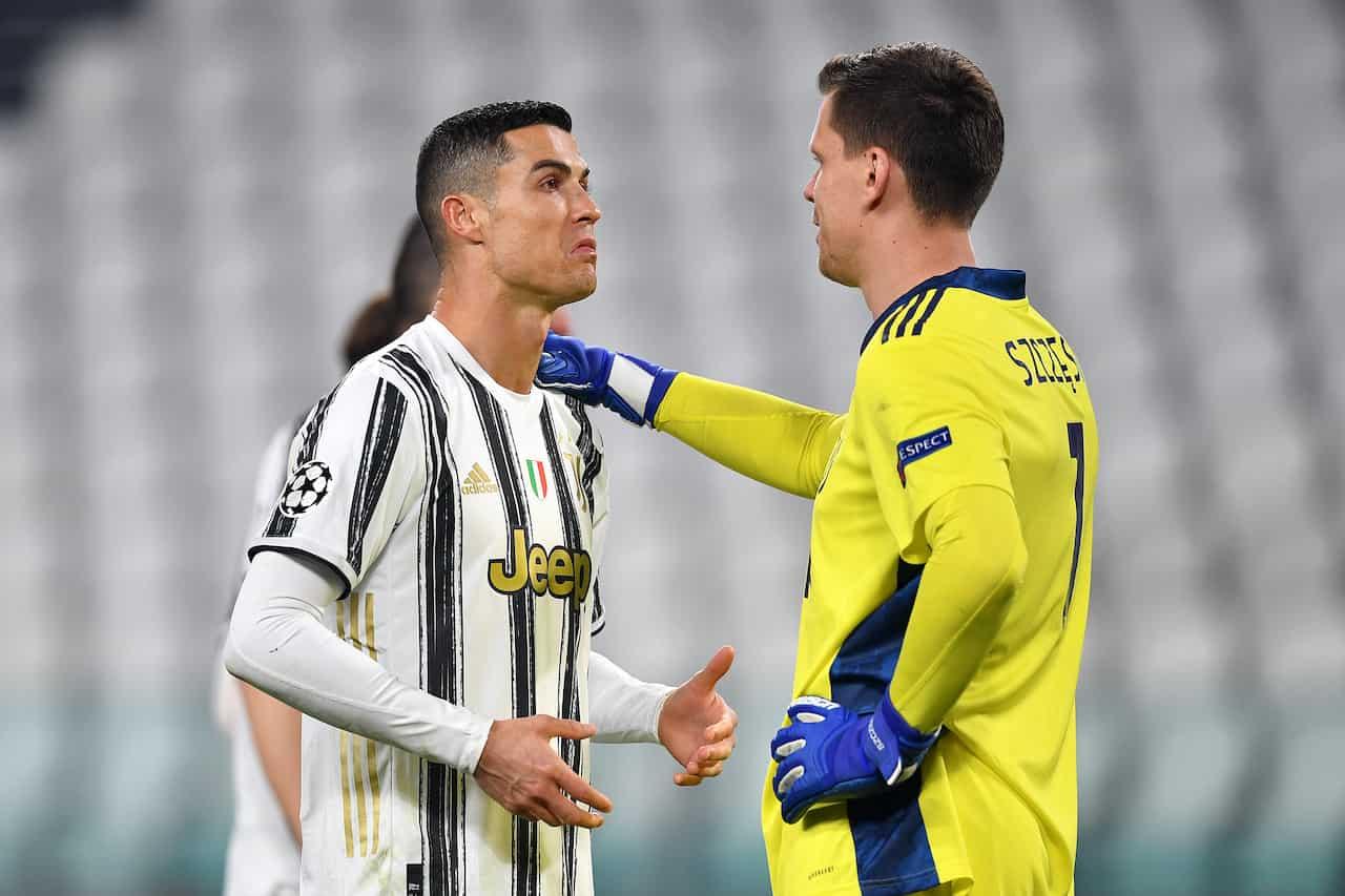Cristiano Ronaldo sottotono in Juventus-Porto (Getty Images)