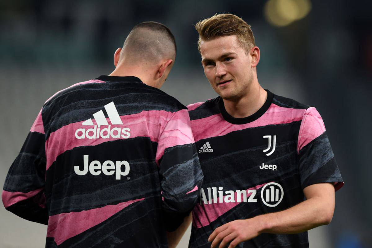 De Ligt Infortunio Juventus