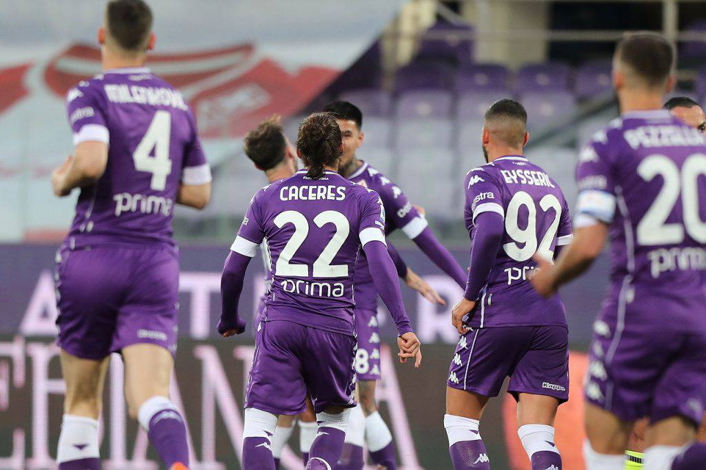 Fiorentina-Milan Mancini Pezzella