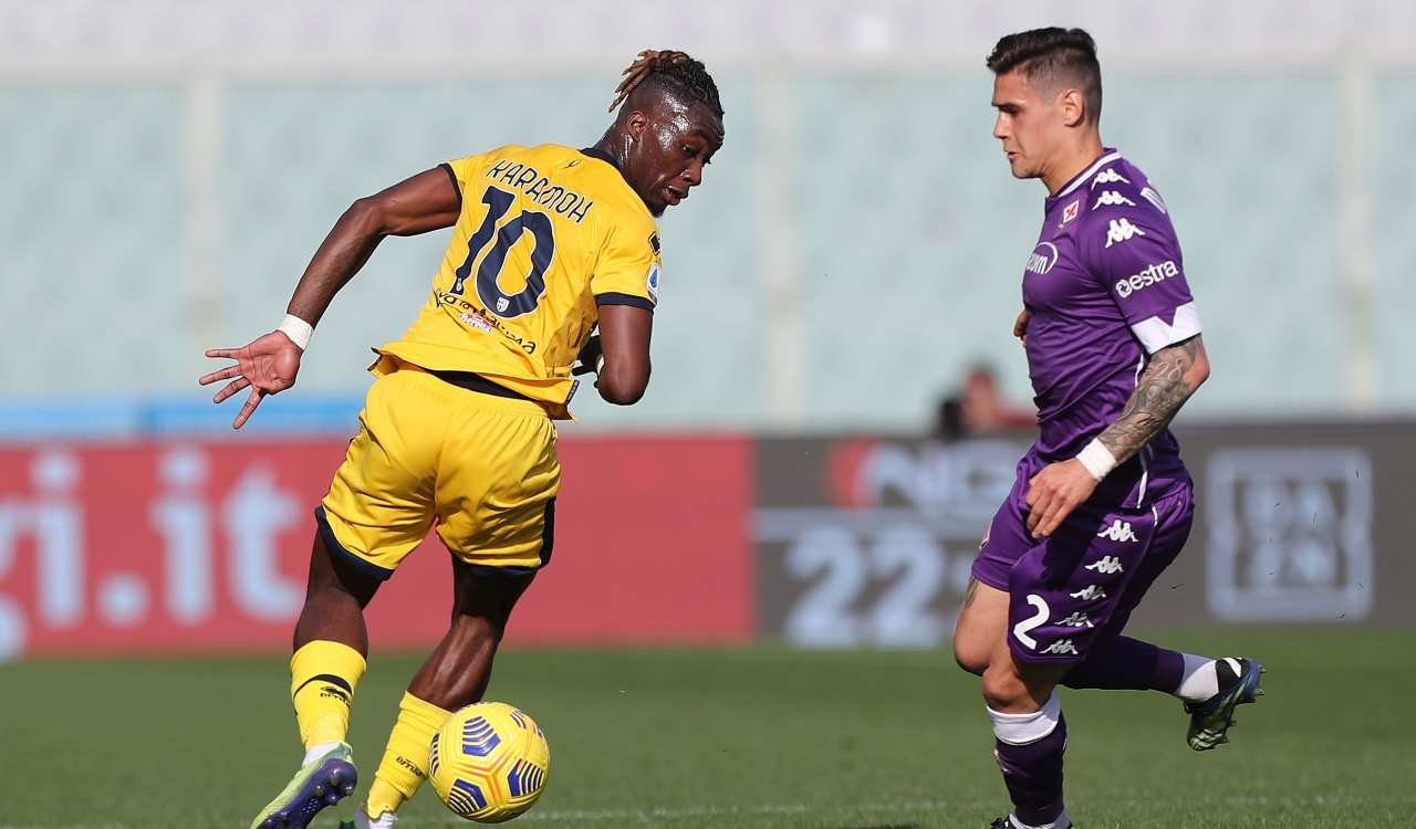 Fiorentina Parma Highlights