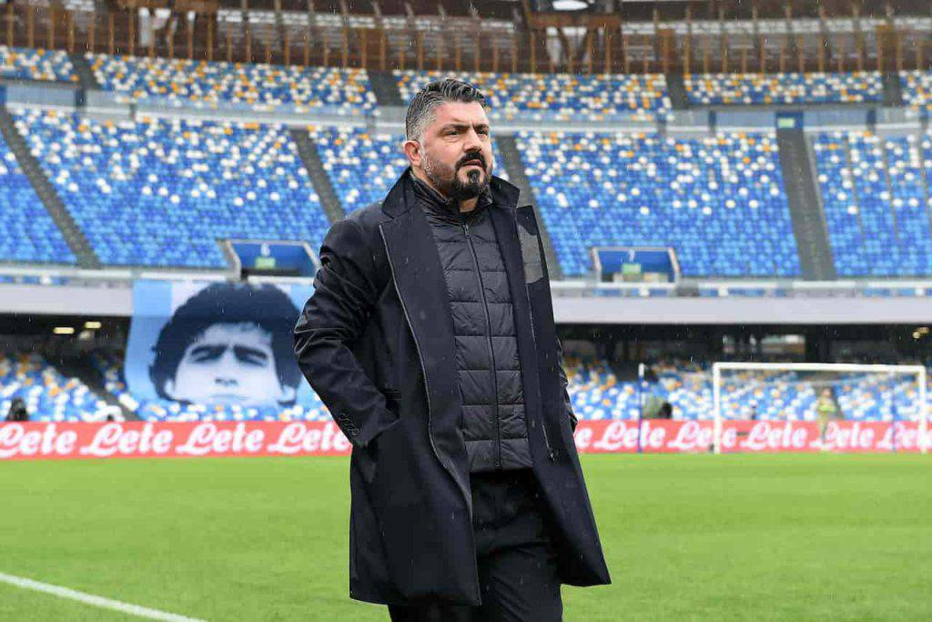 Gattuso Napoli verso l'addio (Getty Images)