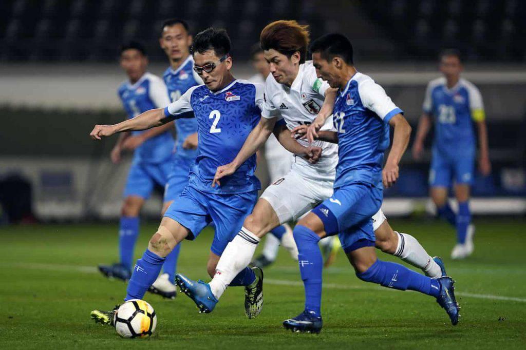 Giappone devastante contro la Mongolia (Getty Images)