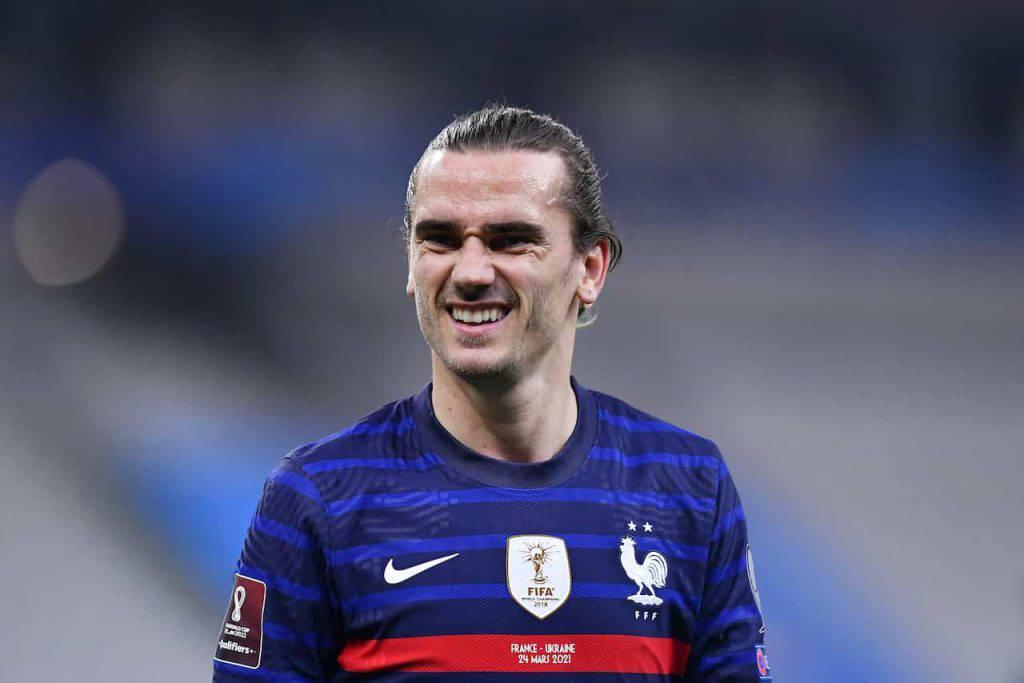 Gol pesante di Griezmann in Francia-Ucraina (Getty Images)