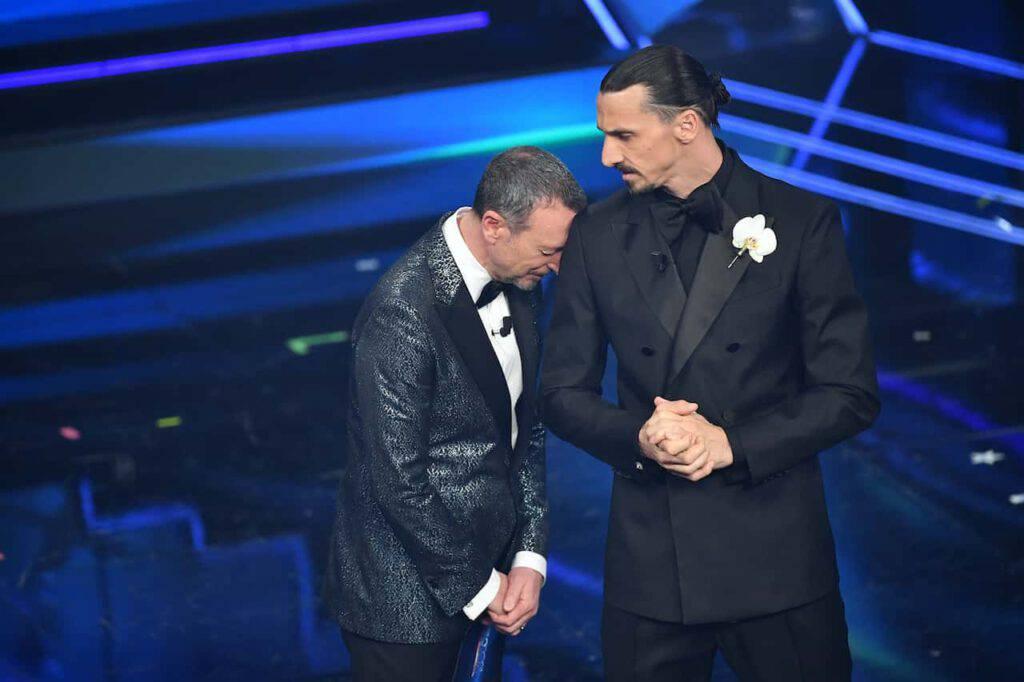 Ibrahimovic torna a Sanremo 2021 (Getty Images)
