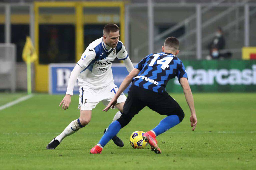 Inter-Atalanta sintesi (Getty Images)