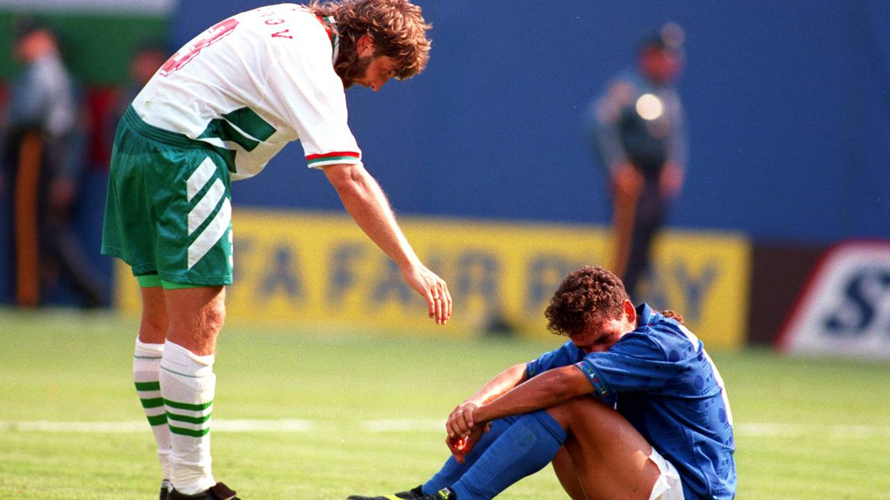 Italia Bulgaria Baggio