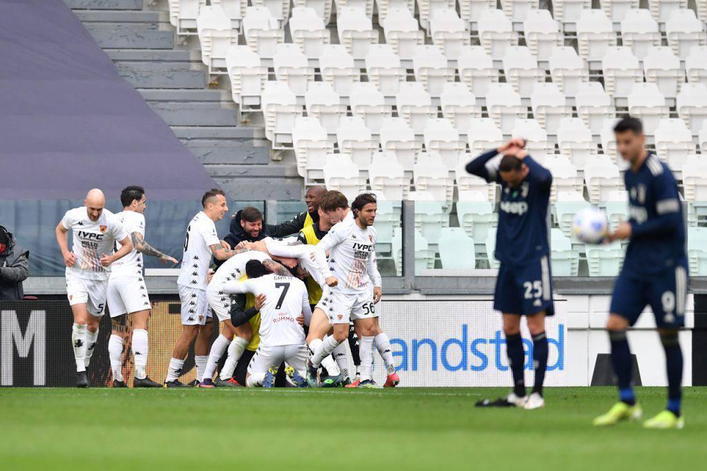 Juventus-Benevento tweet delirante