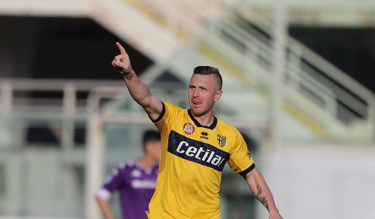 Kurtic Fiorentina-Parma