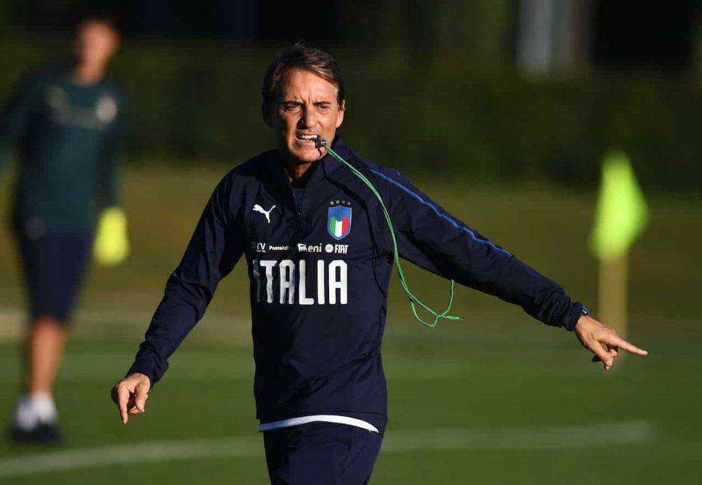Lituania-Italia, problemi di formazione per Mancini (Getty Images)