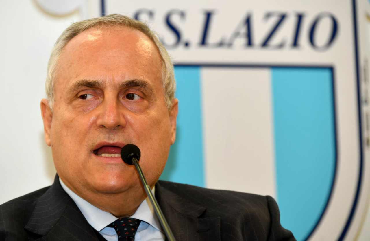 Lazio Lotito furioso