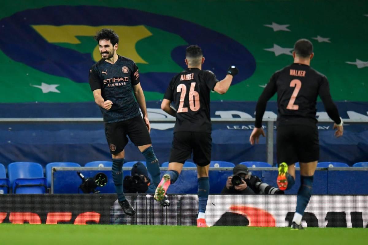 FA Cup Manchester City-Everton