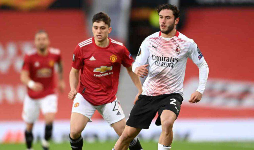 Manchester United-Milan sintesi (Getty Images)