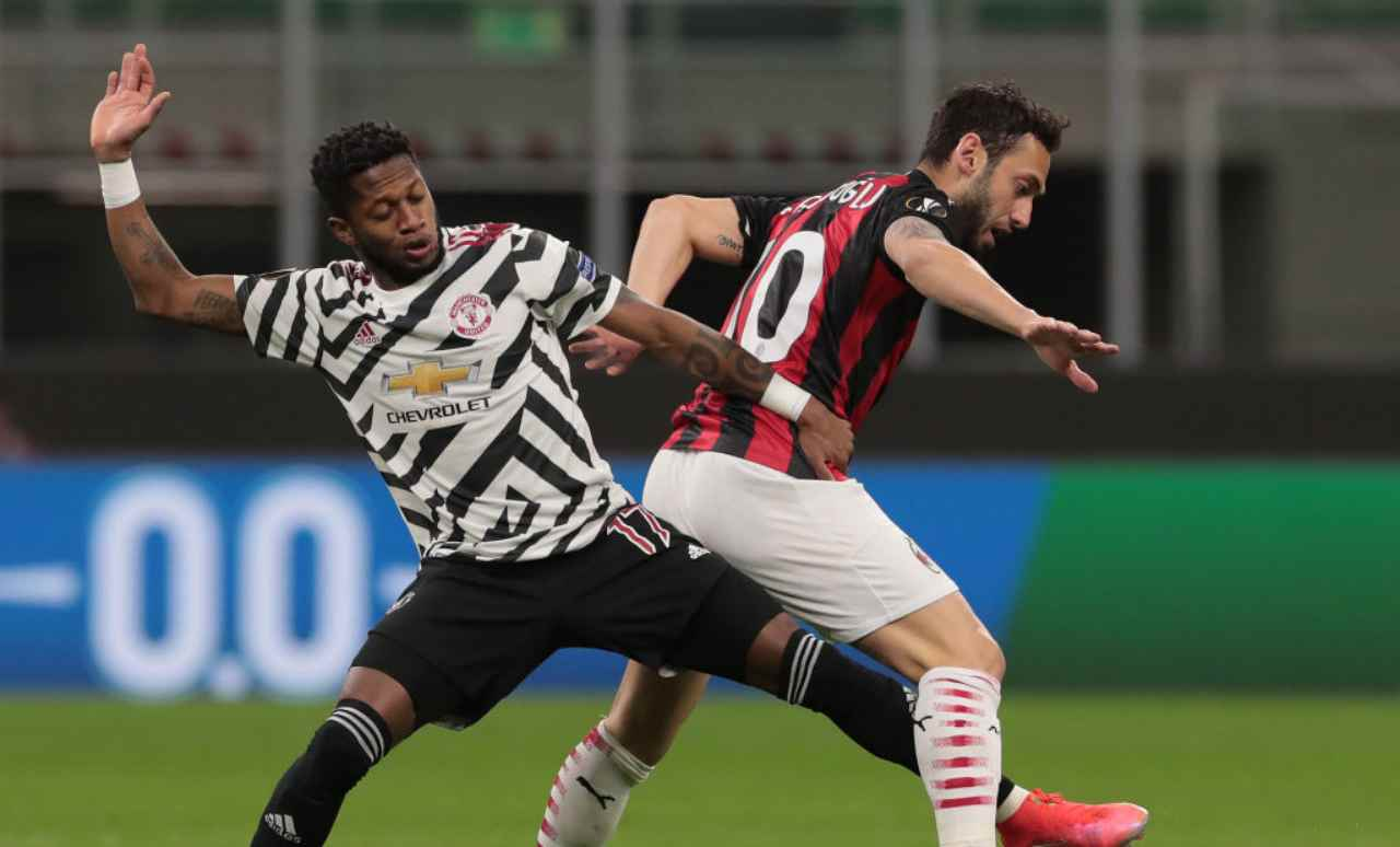 LIVE Milan-Manchester United