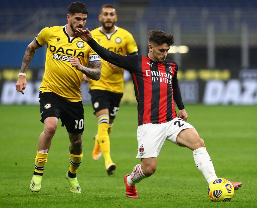 Milan-Udinese Leao Diaz
