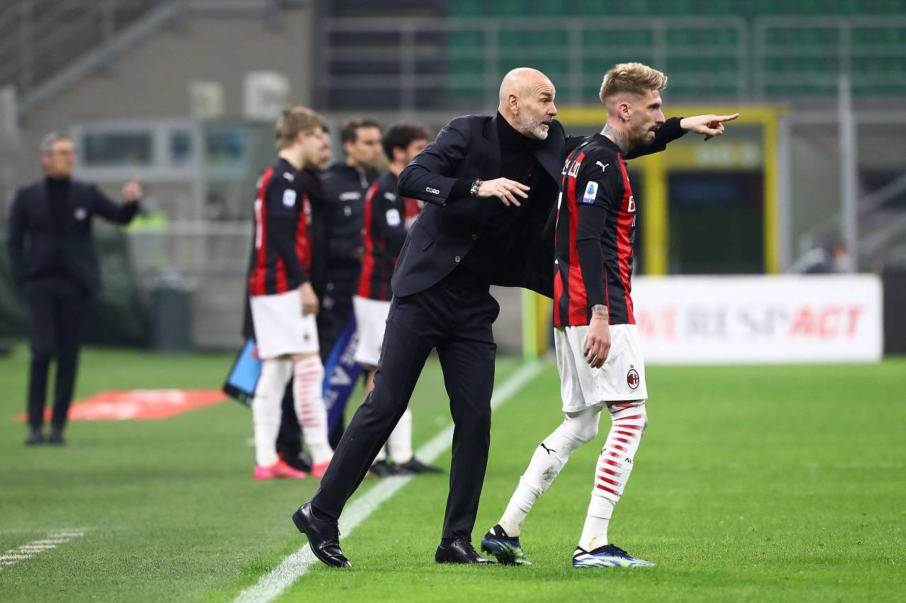 Milan-Udinese Pioli