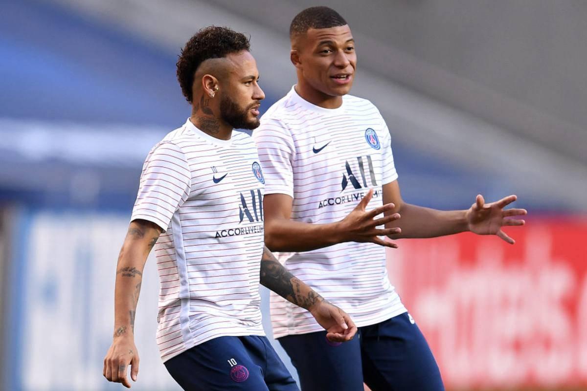 PSG Neymar Mbappé