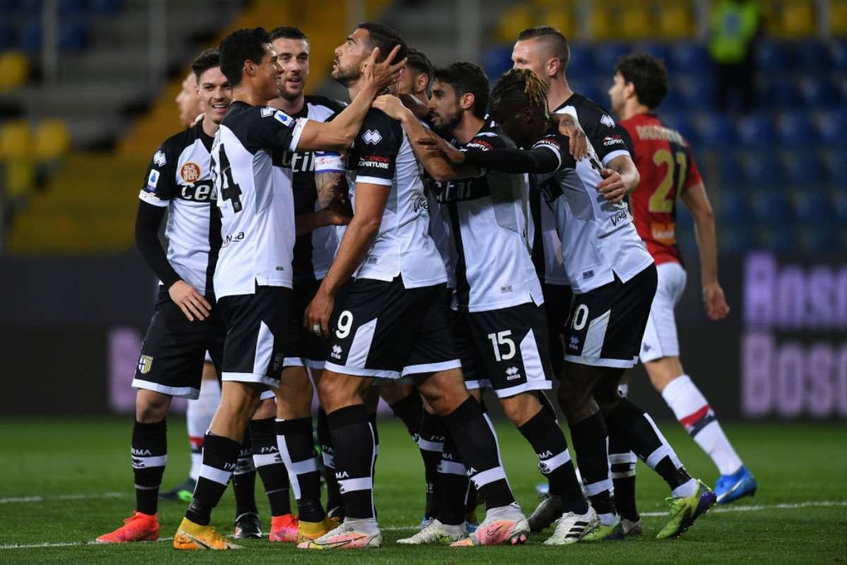 Parma Genoa Pellé