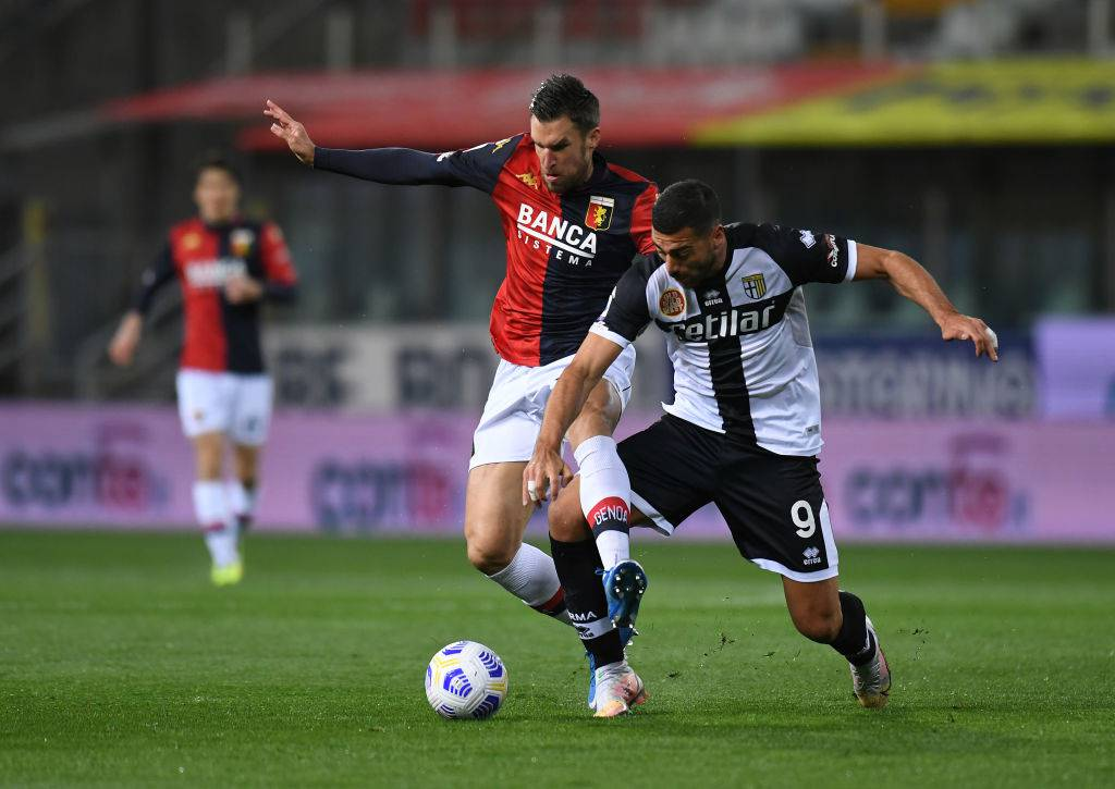 Parma-Genoa Pellé