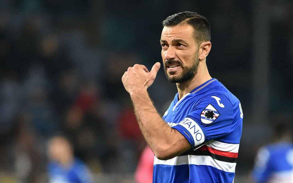Quagliarella 400 presenze in Serie A (Getty Images)