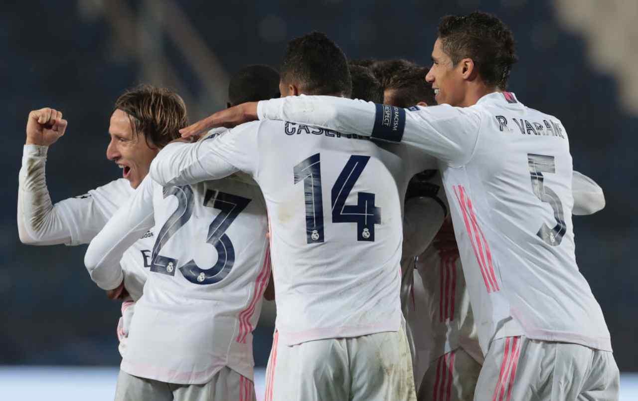 Real Madrid-Atalanta dove vederla