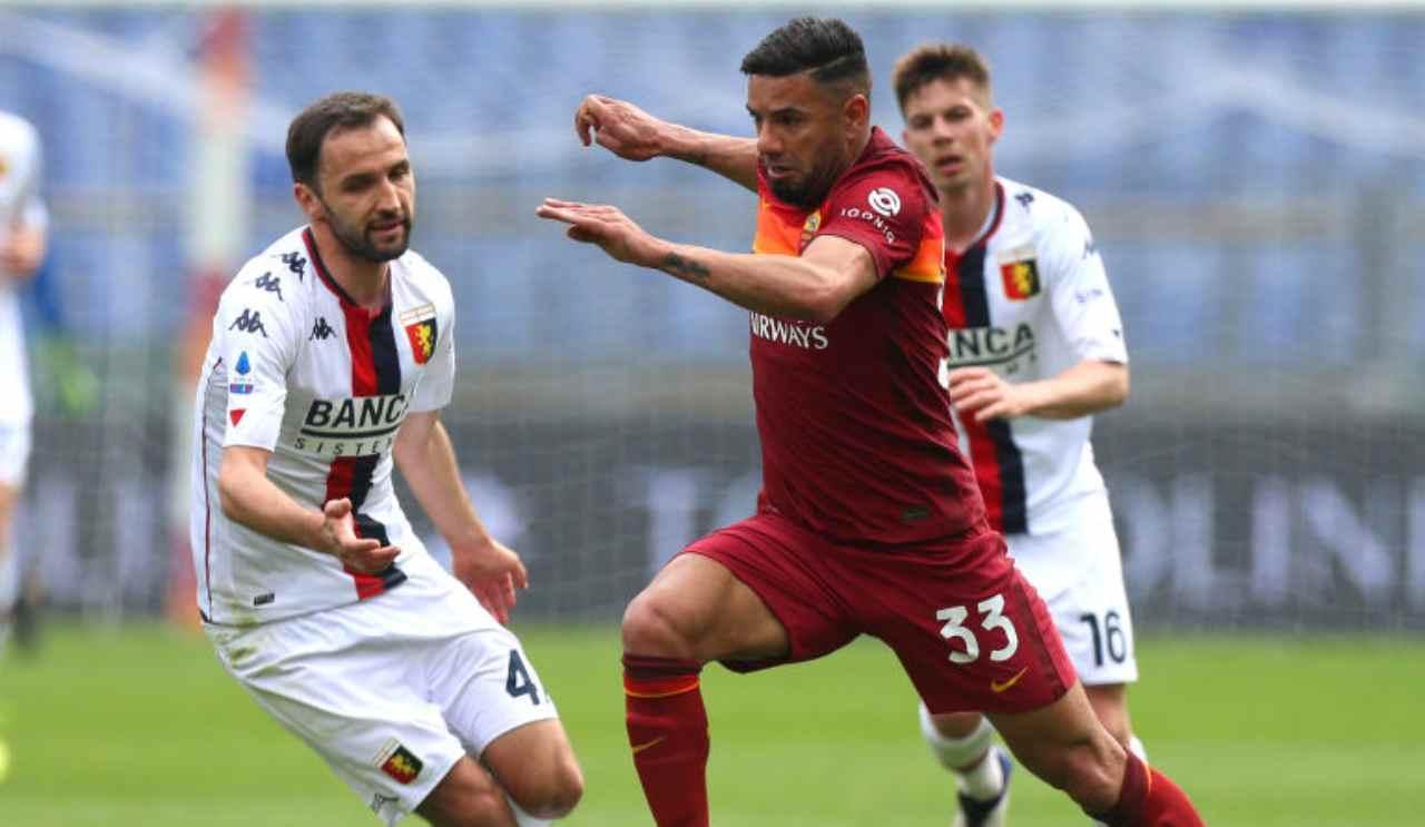Roma-Genoa highlights