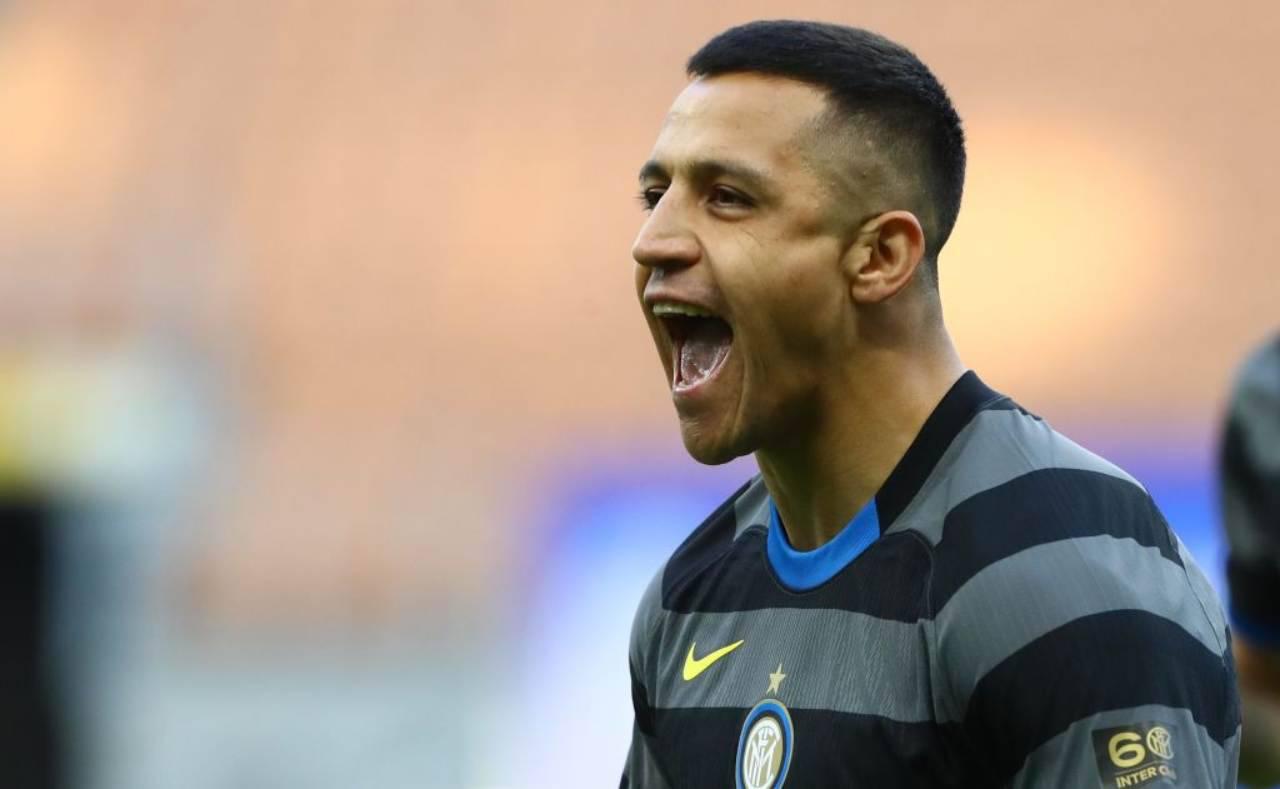 Alexis Sanchez jolly Inter Conte