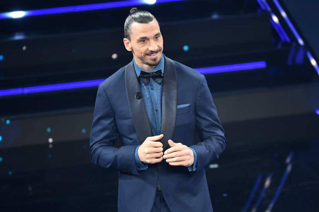 Sanremo 2021 Ibrahimovic alla serata finale (Getty Images)