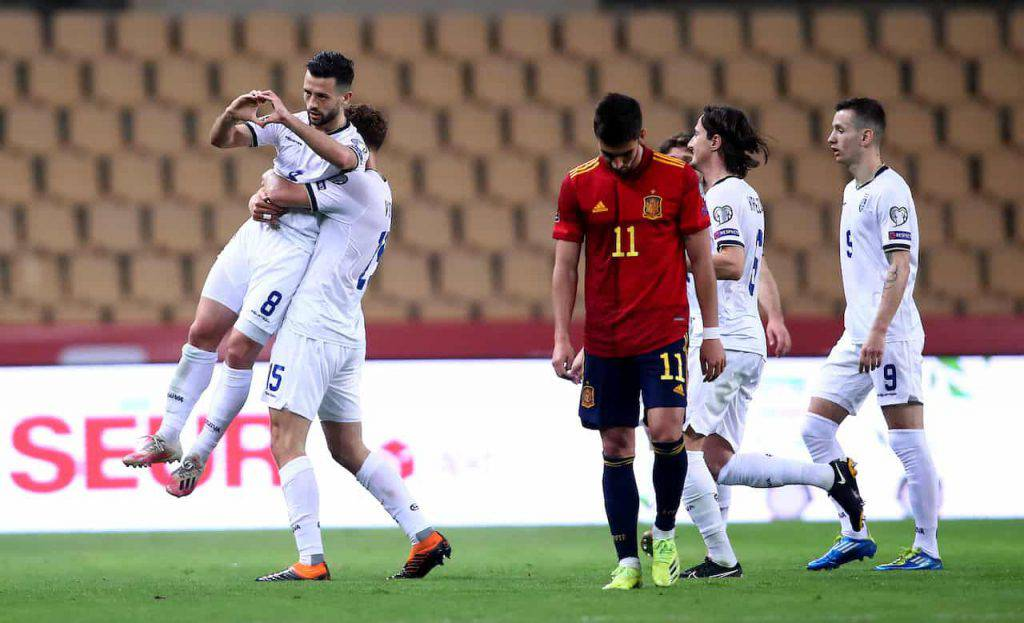 Spagna-Kosovo Halimi che gol (Getty Images)