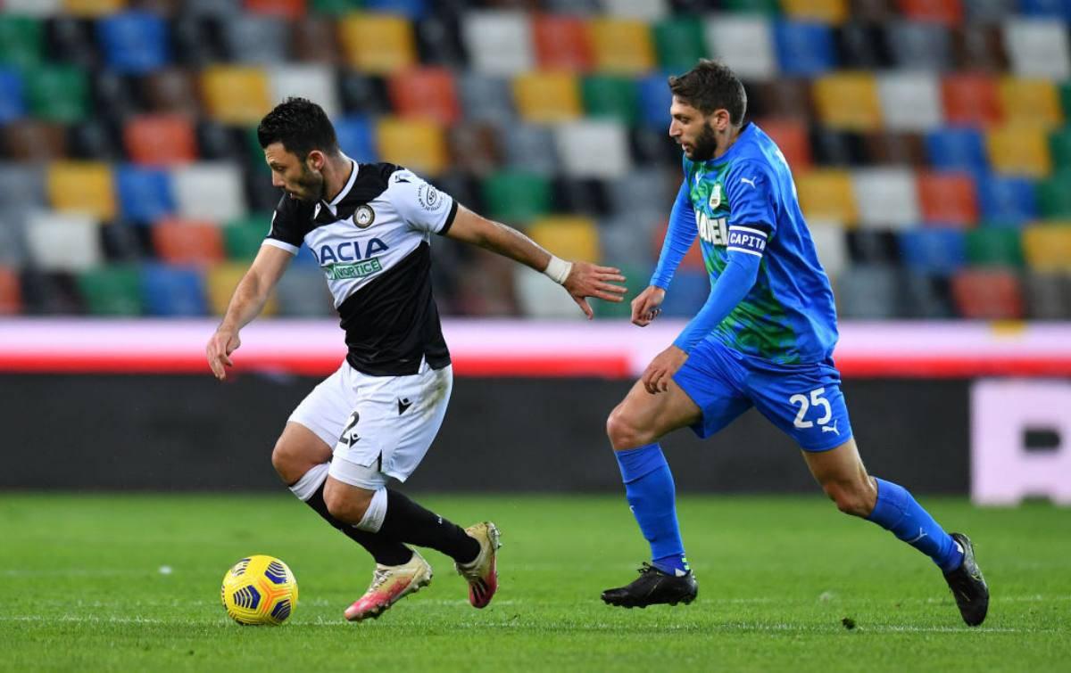 Highlights Udinese-Sassuolo