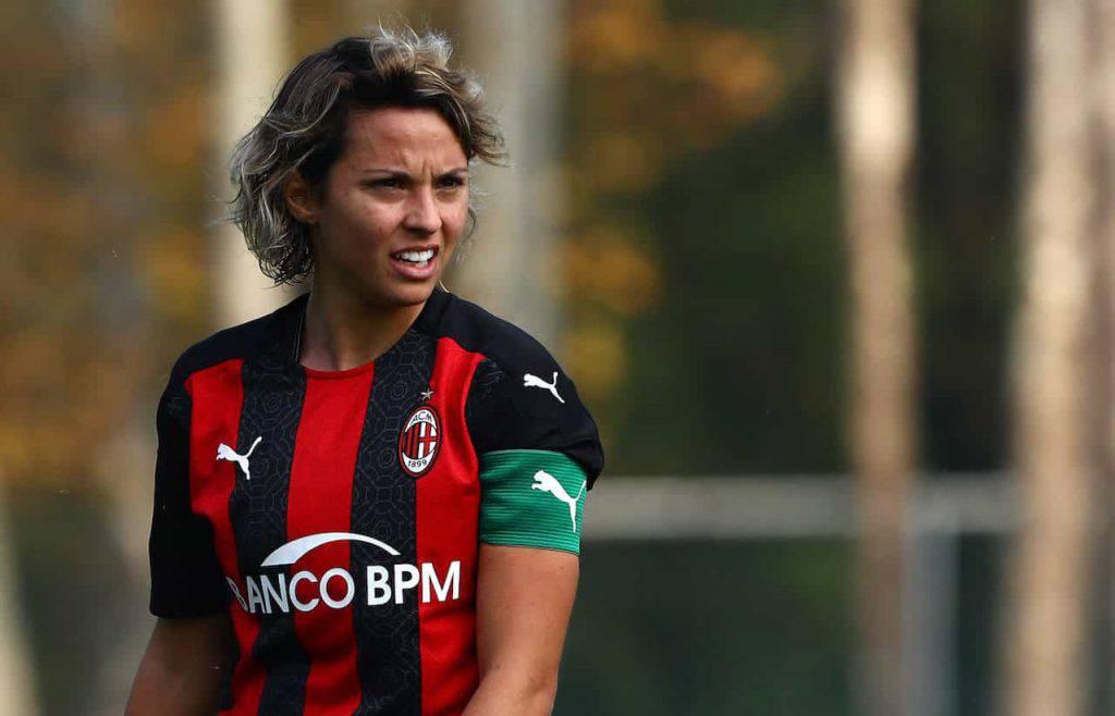 Valentina Giacinti, record per la calciatrice rossonera (Getty Images)