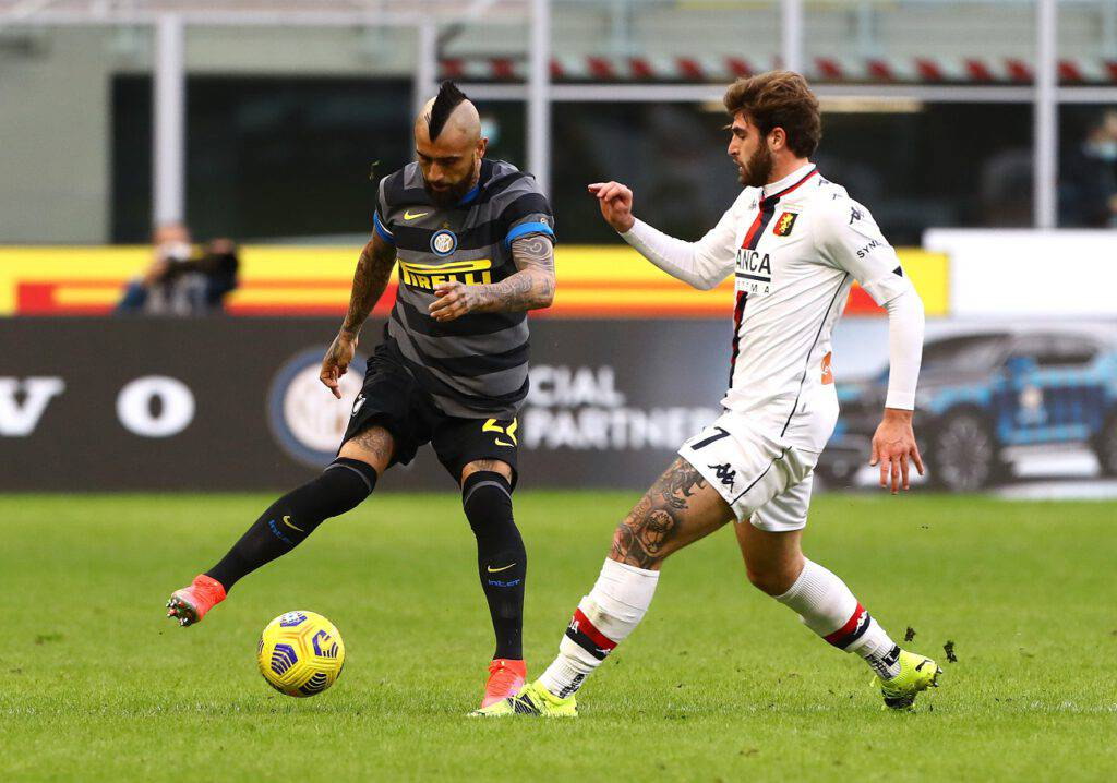 Vidal recupero infortunio