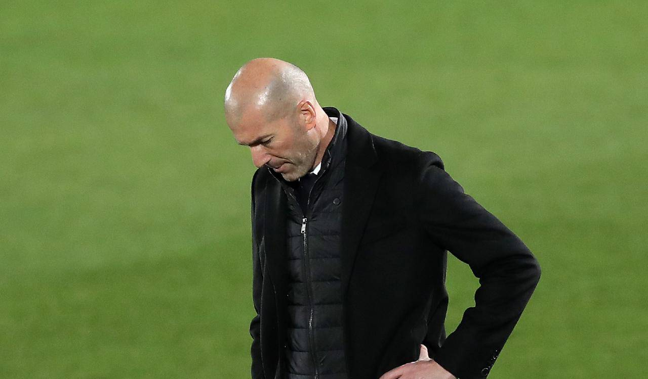 Zidane addio Real Madrid