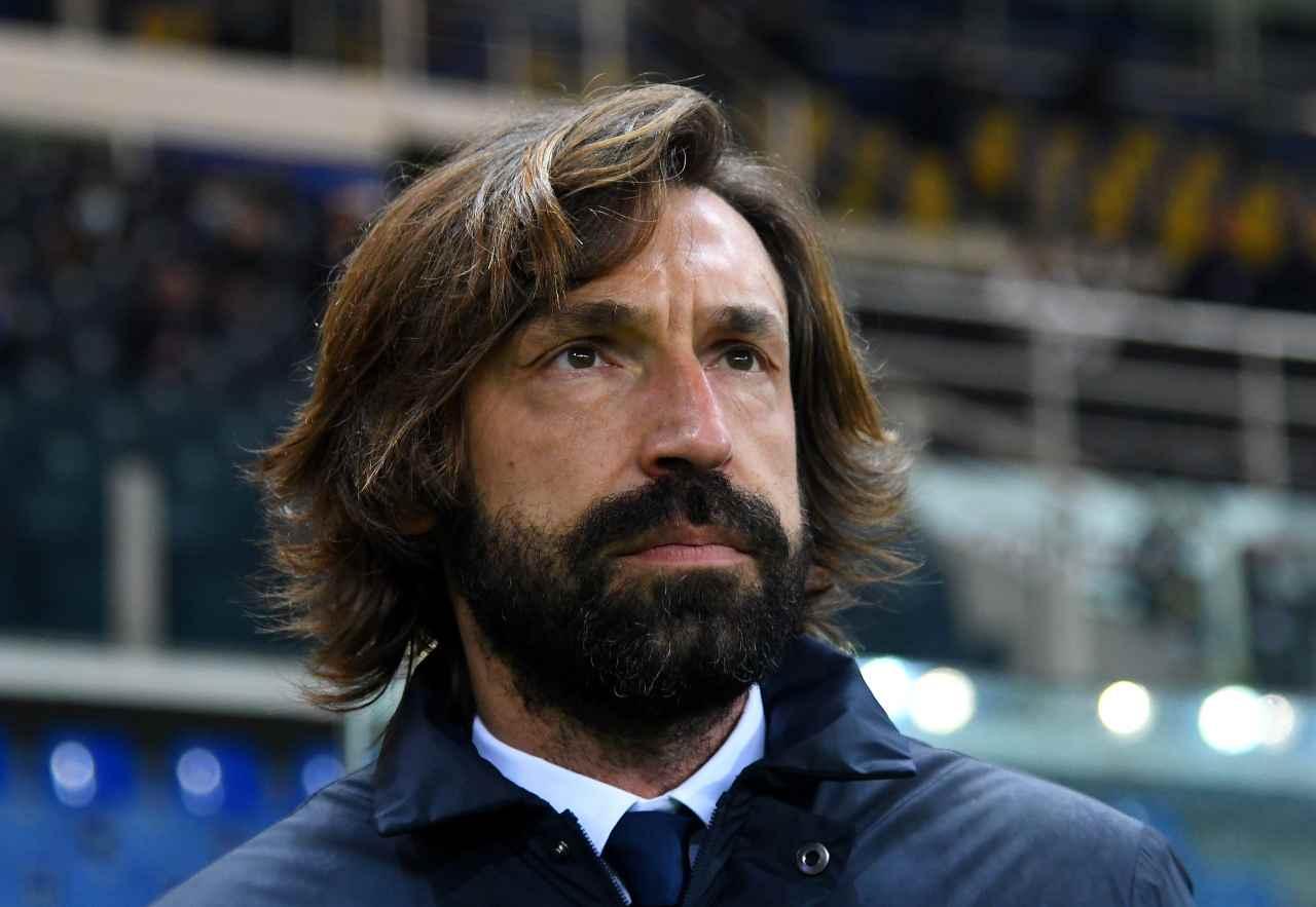 Juventus-Spezia, la vigilia di Pirlo (foto Getty)