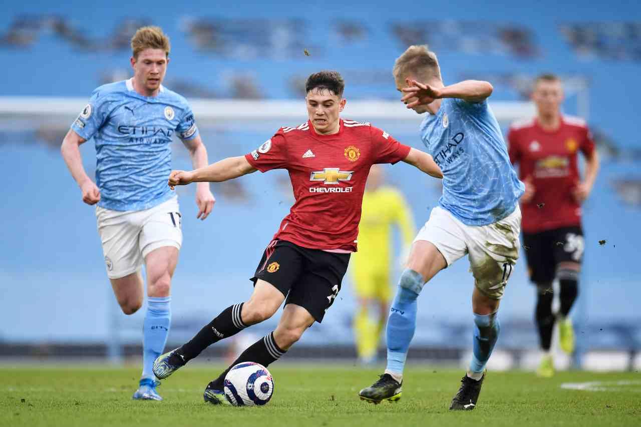 Manchester United trionfa nel derby (foto Getty)