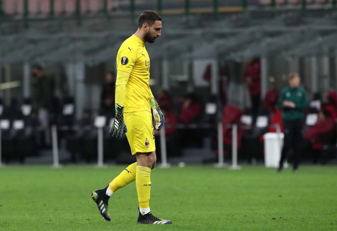 Donnarumma, bufera social contro il portiere del Milan: le critiche dei tifosi
