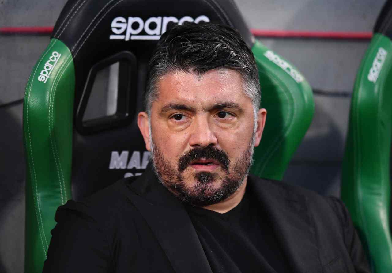 """Sassuolo-Napoli, tifosi in rivolta contro il tecnico: impazza il """"Gattuso out"""""""