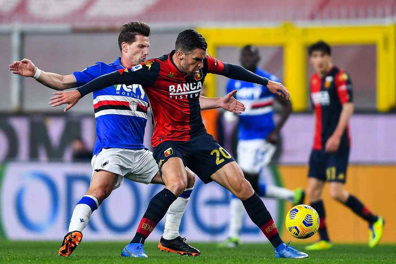 Serie A, highlights Genoa-Sampdoria: video