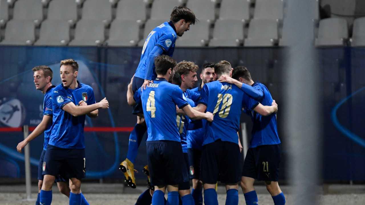 Europei Under 21, Raspadori brilla in Italia-Slovenia: i suoi gol in azzurro