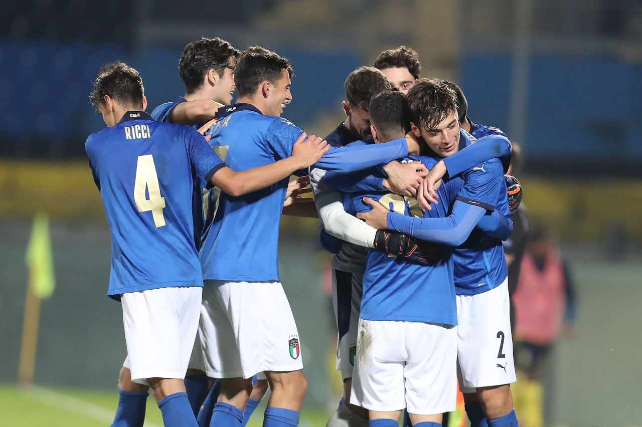 L'Italia sfida la Repubblica Ceca nell'Europeo Under 21 (foto Getty)