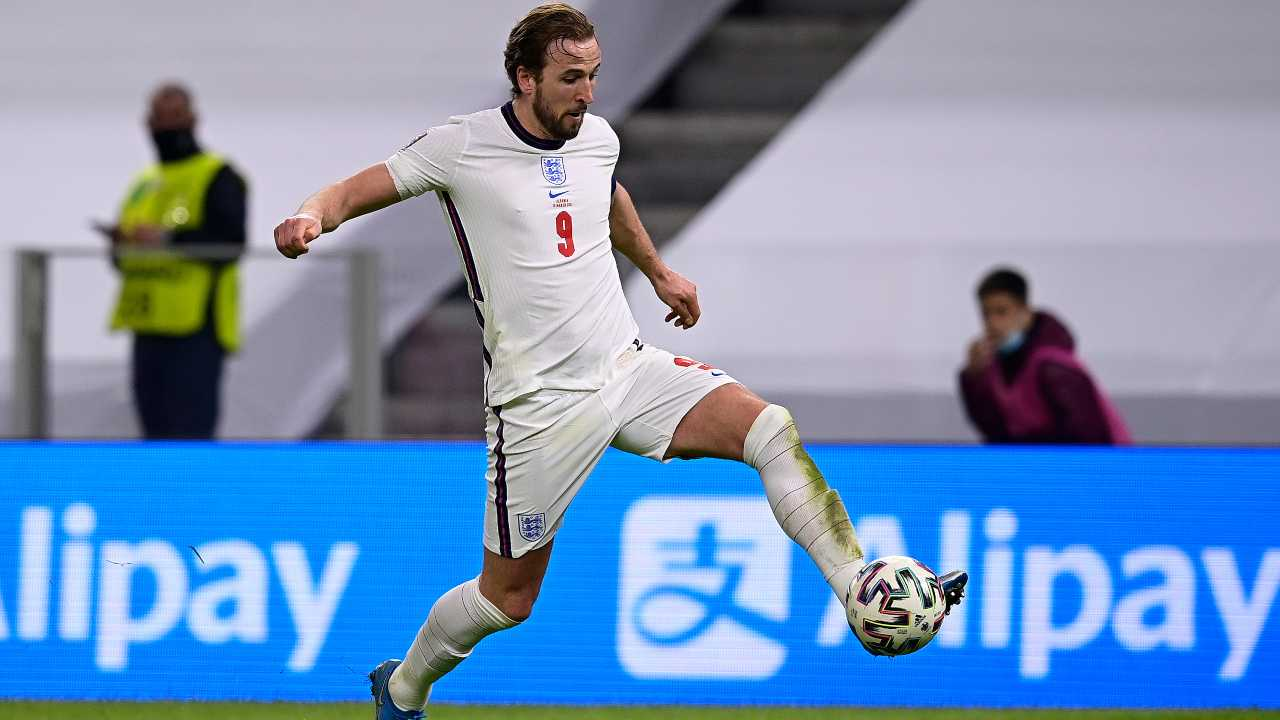 Inghilterra Polonia, Harry Kane vuole avvicinare Rooney (foto Getty)