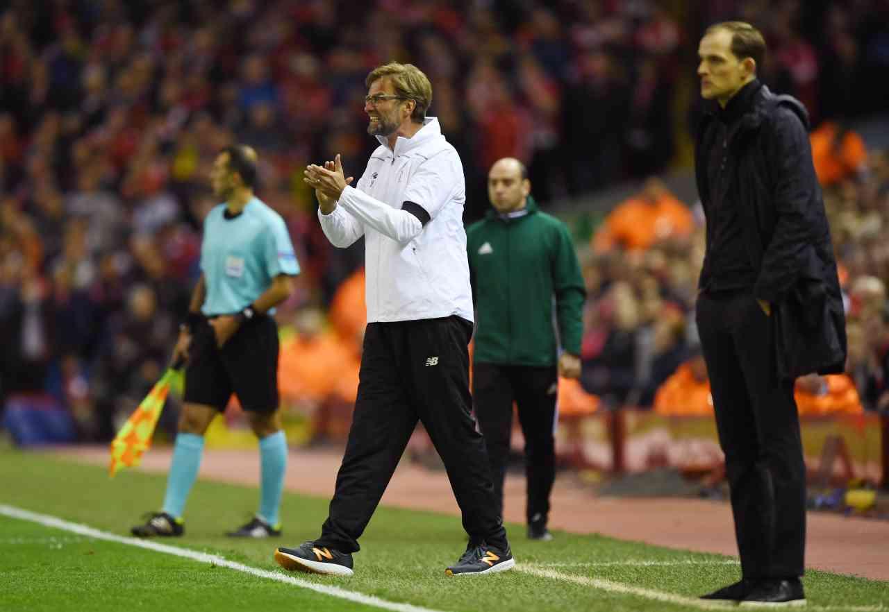 Liverpool-Chelsea, il duello Klopp-Tuchel