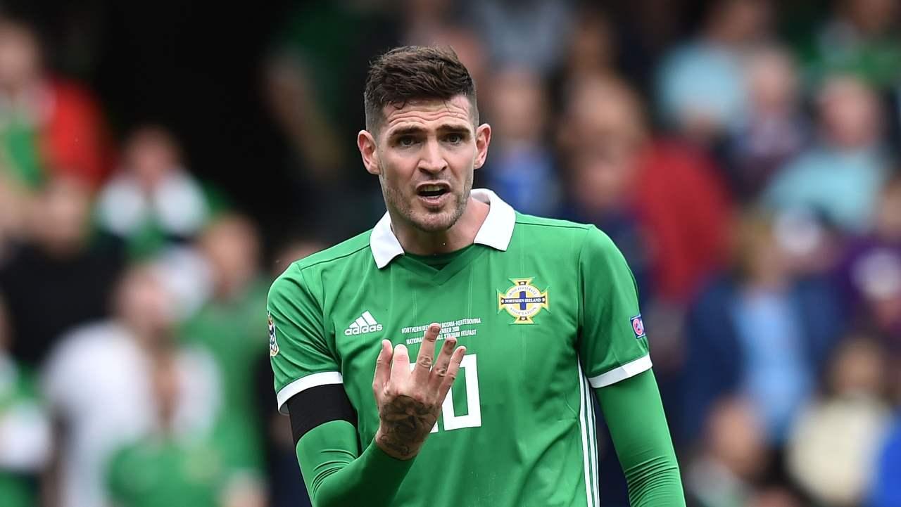 Italia-Irlanda del Nord, Kyle Lafferty sfida Belotti: che anno insieme a Palermo